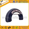 Custom logo printed inflatable tire arch F5018