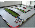 6.7*3.8 M Wool Material Professional Mini Track Racing