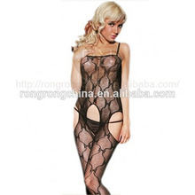 Cheap price lace suspender full body stocking sexy hot net bodystocking