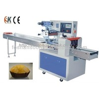 small cakes pillow pack horizontal flow wrap machine (SK-W250)
