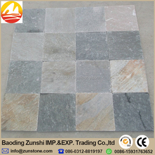 Random Shape Natural slate Material Black Slate Tile For Floor Covering