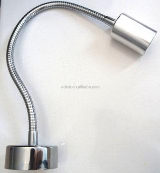 Gooseneck Flexible LED Lamp GU10 Lamp Holder for Bedroom/wall ...