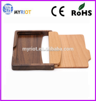wood card case / card holder for wholesale