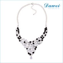 The European and American style mixed diamond rhinestone necklace angel pendant necklace
