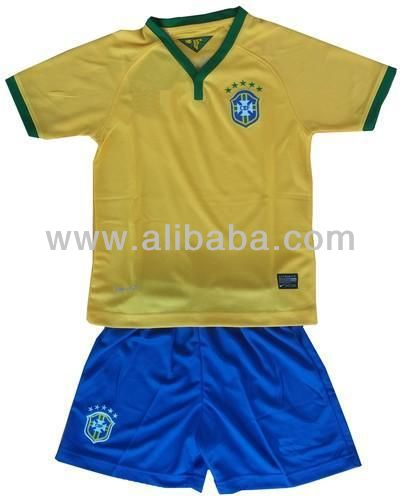 Kids Boys Girls Children's 2014 Football Kits Sets Sizes SS S M L XL XXL