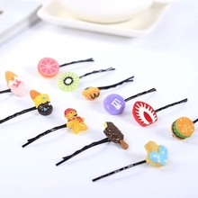 2016 New Multi-Style Cartoon Fruits Slice Barrettes <strong>Hair</strong> <strong>Accessories</strong> for Girls Cute <strong>Hair</strong> Clip