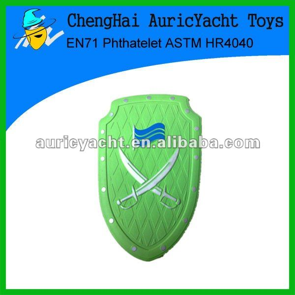 2012 EVA shield for novelty toy
