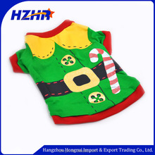 Christmas Pet green clothes Xmas Small Pet Dog clothing Puppy Cat Cute pet T-shirt dog Apparel