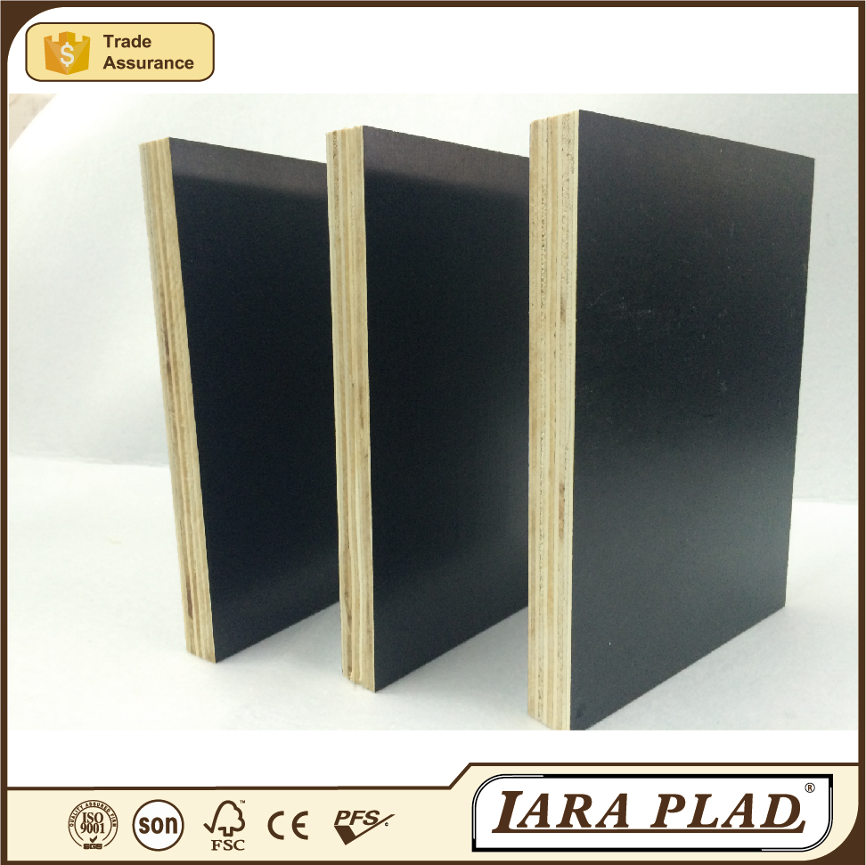 durable bridge formwork /shipped to Vietnam market wooden formwork for constrctiion /15mm/18mm/21mm/25mm black film