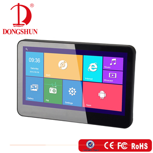 HDMI input 10.1 inch headrest portable dvd player with android interface and high-definition touch screen