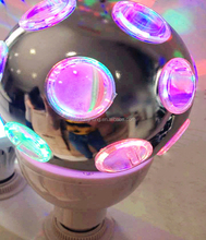 New Product LED Crystal Magic Ball Rotating Firework Lamp 3W Full Color Stage Lighting SanTu Brand Popular Disco Party Ball