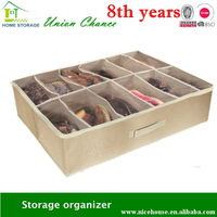 underbed 12-pairs shoe storage box shoe and bag