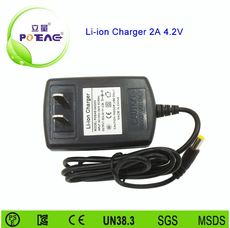 Wholesale 4.2v lipo battery charger with EU US UK AU plug