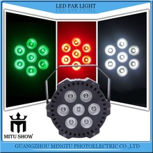 Simple stage light 7*10W 4in1 RGBW LED DMX512 control led par light for led mini party light