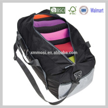Fashion waterproof duffel folding travel storage bag men custom logo for travel