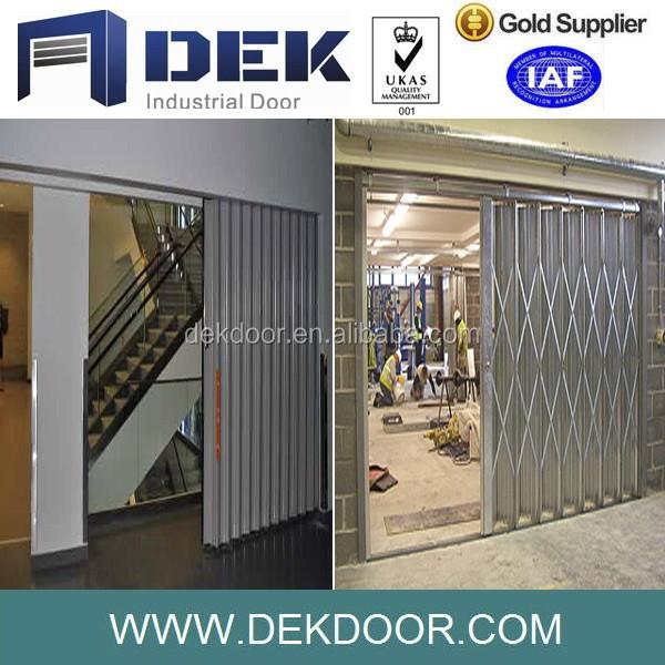 automatic metal accordion doors steel folding door buy metal accordion doorssteel folding metal doors product on alibabacom - Accordion Doors