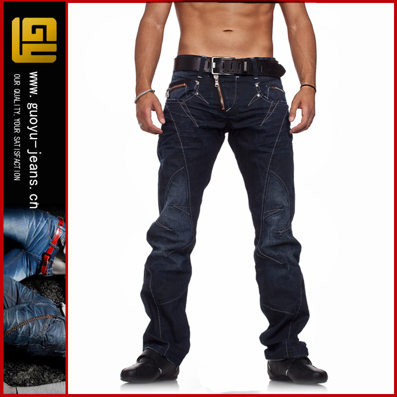 fashion wholesale High quality ripped slim fit man denim jeans pents drop shipping (LOTY177)