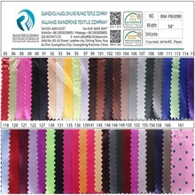 wholesale fabric china free sample lining 100% polyester silk satin fabric