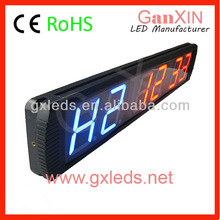 4 inch 6 digit countdown GYM timer electronic prayer clock