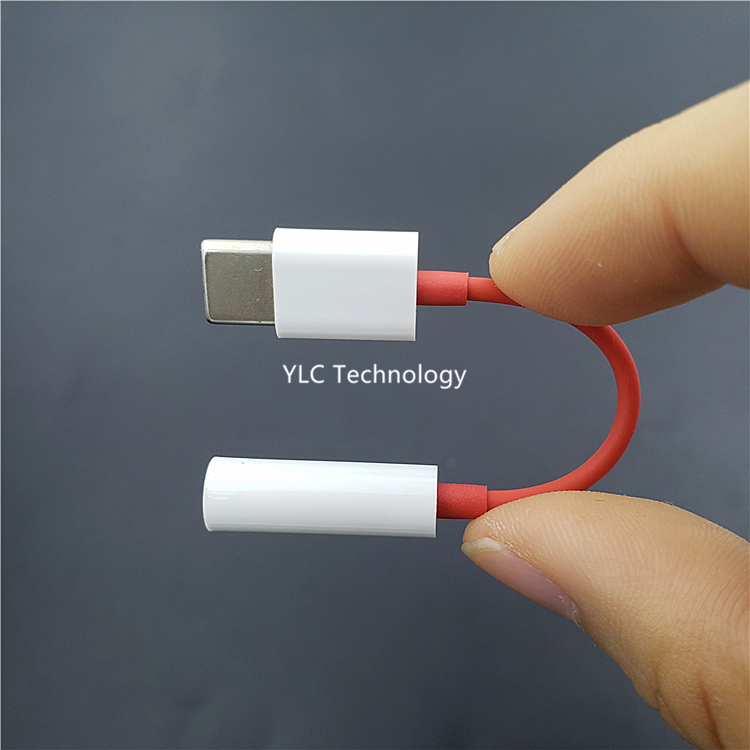 USB <strong>C</strong> Type <strong>C</strong> To 3.5mm Earphone Port Adapter Cable USB-<strong>C</strong> Aux Audio Converter For oneplus