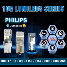 Unique design Pair 30W led bulb Phi lip chip1156 1157 3156 3157 7440 7443 H7 H8 H16 H10 H11 car bulb