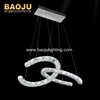 Interior decoration Rings LED Crystal Pendant Lamp Decoration Dining Pendant Lamp