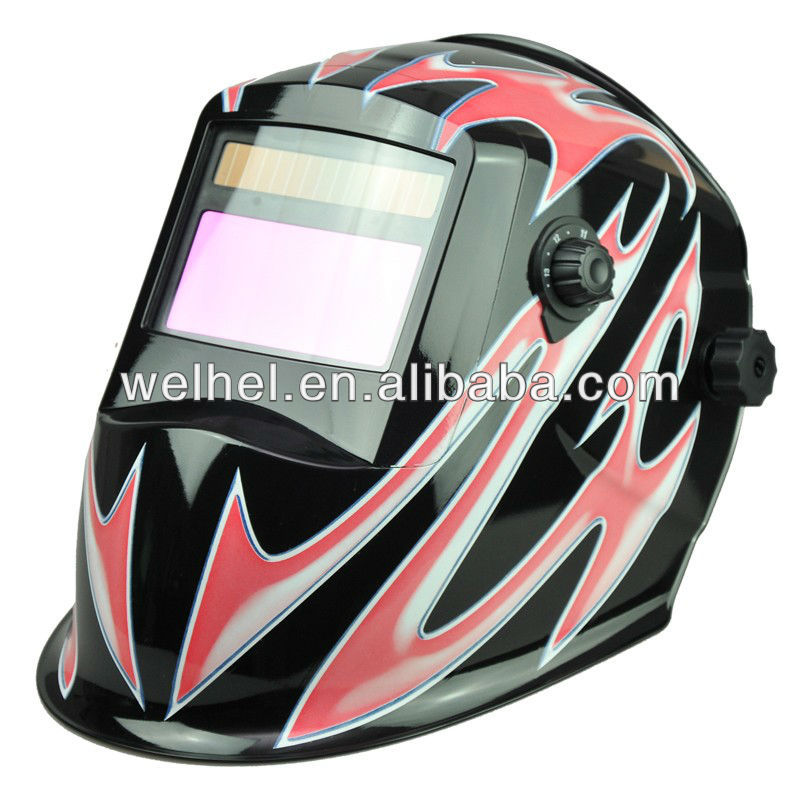China OEM 5000 welding hours custom DN9-13 auto darkening welding helmet