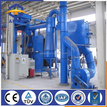 steel structure hook type shot blasting machines