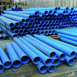 PVC/Steel Water well casing pipe with thread connection