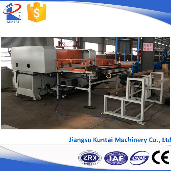 Automatic Hydraulic Four-Column Die Cutting Machine for Football Panel and Medical Supplies