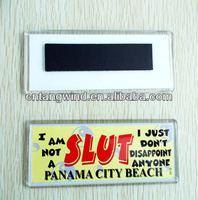 souvenir custom acrylic fridge magnet