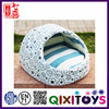 Good quality super soft plush handmade indoor dog kennel 45*41*12cm pet house for small dogs