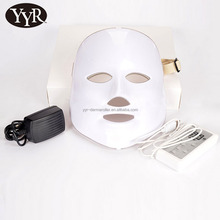 YYR Face Beauty Machine Led Light Therapy Face Mask 7 Colors Skin Rejuvenation LED Light Facial Mask