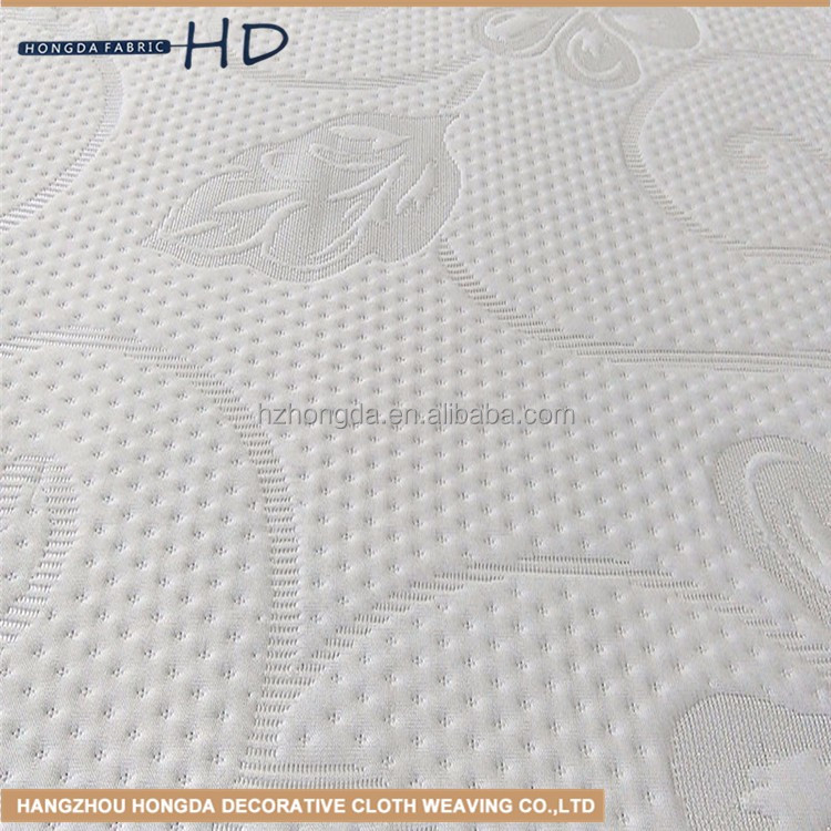 china wholesale new design high quality silk screen printed Polyester mattress fabric