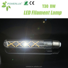 New Design Art Deco T30 4W/6W/8W Vintage Led Bulb Filament With Factory Price and Vintage Style Lamp