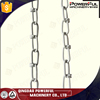 double loop chain chain leads tie out chain knotted chain