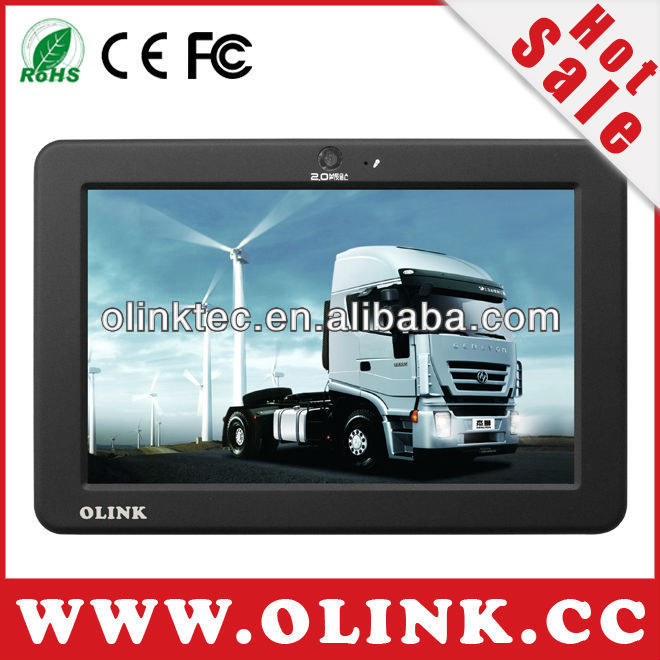 "Vehicule telematics pc with WinCE 6.0 OS, 7"" inch Touch screen, WiFi, Lan port, RS232, GPS"