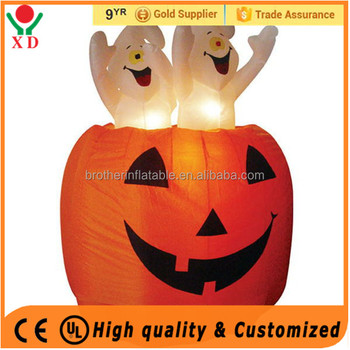 Wholesale Inflatable Artificial Halloween Pumpkin Giant Halloween Decoration