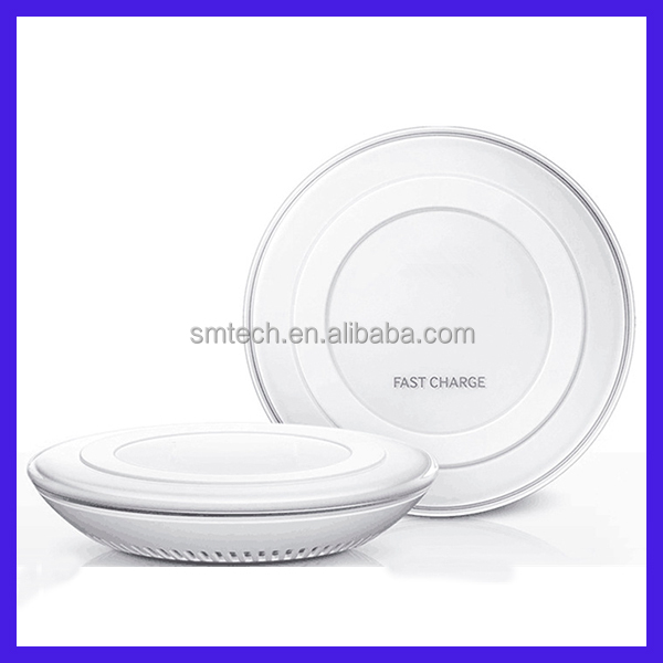 Portable USB Qi Wireless Charger Inductive Mobile Phone Battery Charger for Smartphones