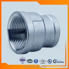 JIS standard pipe fittings stainless steel reducing socket banded