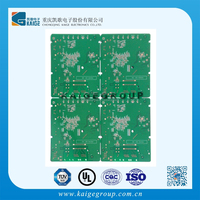 E-test free Hasl 4 layer fr4 94v0 pcb board with rohs