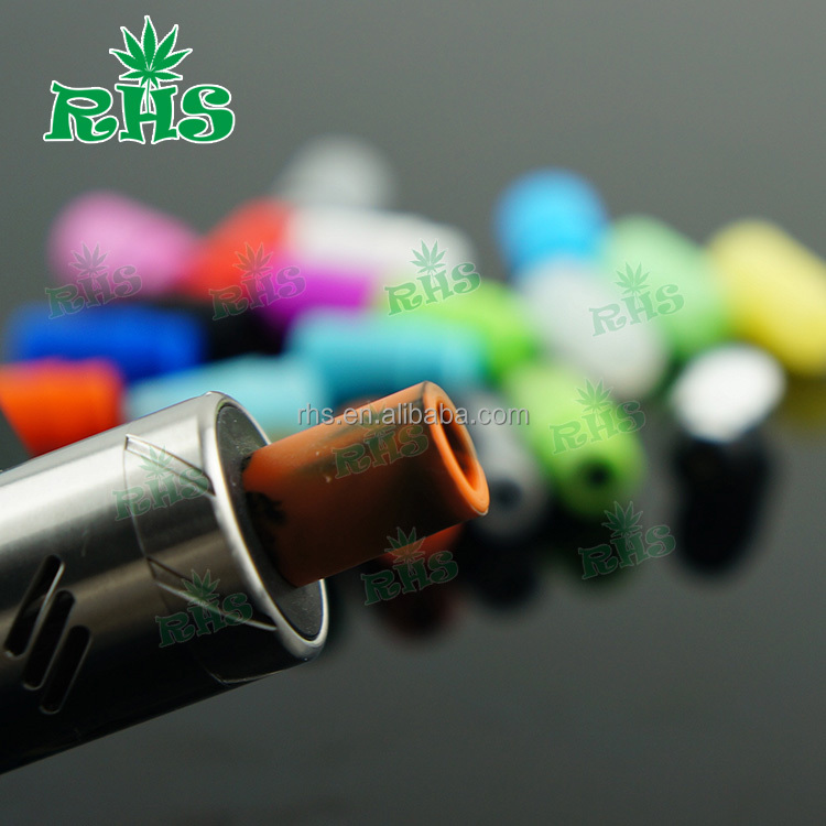 E Cigarette Disposable Silicone Test Tip health mouthpiece cap 510 Soft Drip Tips Cover