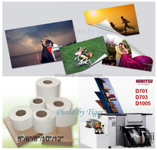 "Mini lab photo paper for Noritsu D1005 D701 D703 5""/6""/8""/10""/12"" resin-coated photo paper"