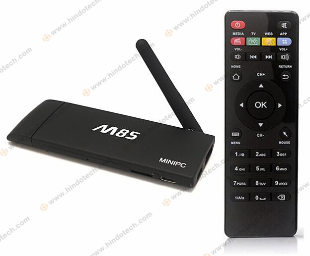 Quad Core Amlogic S805 Android 1GB 8GB Bluetooth Wifi full HD M85 TV Box Fire TV Stick with Remote Control
