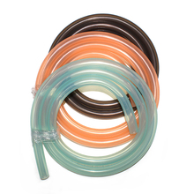 Food Grade Heat Resistant Transparent Silicone Rubber Vacuum Hose Pipe For Shisha Hookah 11*17*1500mm