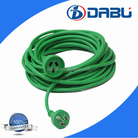 European, Flat,SAA power cord with extension cord adapter