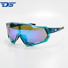 Wholesale UV400 outdo bicycle sports Windproof Goggles 3 Lens Cycling Glasses