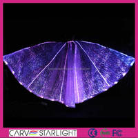 Fashion party supplies led lighting hot green butterfly fairy wings
