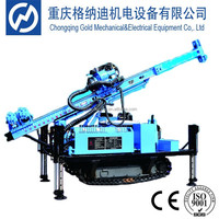 GXY-100 diesel engine high efficiency impact crawler drilling machine for soil test
