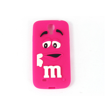 Custom 3D logo silicone mobile phone case cheap silicone phone cover
